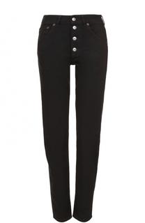 Однотонные джинсы прямого кроя Balenciaga