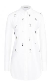 Блуза прямого кроя с декоративной отделкой Dorothee Schumacher