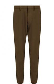 Хлопковые брюки прямого кроя Dsquared2