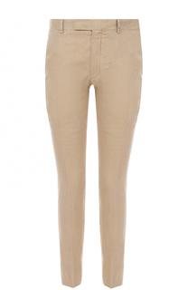 Льняные брюки прямого кроя Polo Ralph Lauren