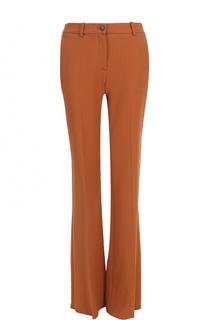Расклешенные брюки со стрелками и карманами Roberto Cavalli