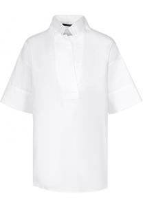 Хлопковая блуза свободного кроя Windsor