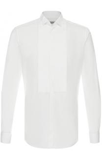 Хлопковая сорочка под смокинг с воротником бабочка Valentino