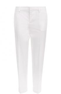 Укороченные зауженные брюки из хлопка Dsquared2