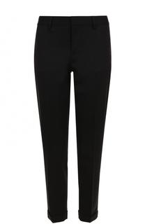 Укороченные зауженные брюки из шерсти Dsquared2