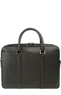 Кожаная сумка для ноутбука с плечевым ремнем BOSS