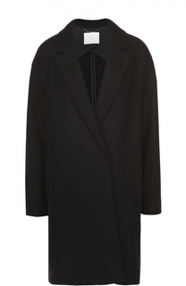 Пальто прямого кроя со спущенным рукавом BOSS