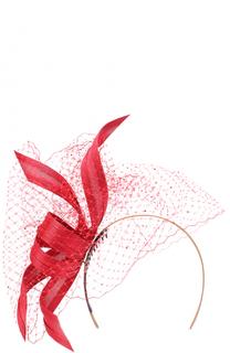 Вечерняя шляпа с декором и кружевом Philip Treacy