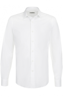 Хлопковая сорочка с воротником кент Valentino