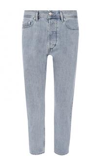 Укороченные джинсы прямого кроя Diesel