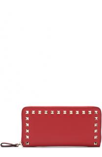 Кожаное портмоне Rockstud Valentino