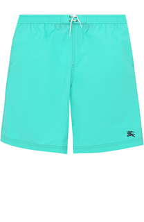Плавки-шорты с логотипом бренда Burberry