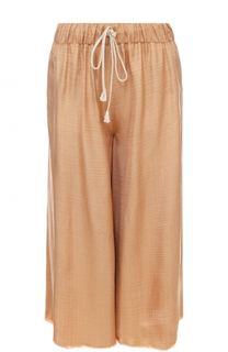 Укороченные широкие брюки с эластичным поясом Forte_forte