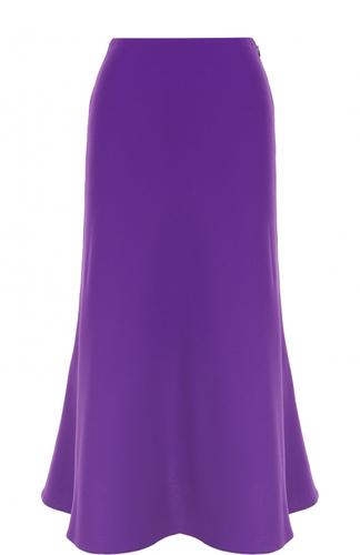 Однотонная юбка-миди Ralph Lauren