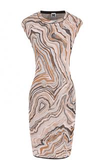Вязаное платье-футляр без рукавов M Missoni