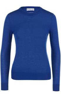 Кашемировый пуловер с круглым вырезом Balenciaga