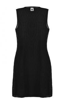 Вязаное мини-платье без рукавов M Missoni
