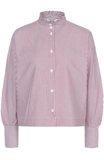Блуза свободного кроя в клетку Atlantique Ascoli