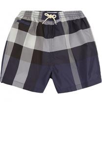 Плавки-шорты с принтом Burberry