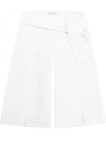 Укороченные расклешенные брюки с широким поясом I Pinco Pallino