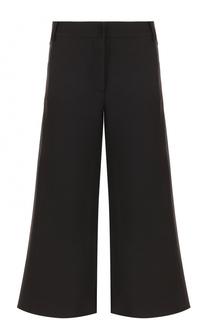 Укороченные расклешенные брюки Valentino