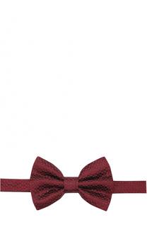 Шелковый галстук-бабочка Armani Collezioni