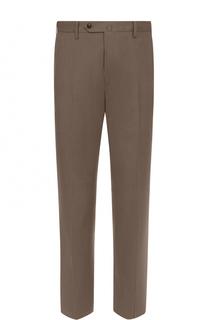 Хлопковые брюки прямого кроя PT01