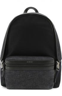 Рюкзак из смеси шерсти и кашемира с внешним карманом на молнии Moncler