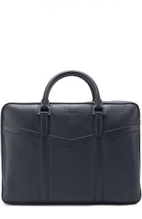 Кожаная сумка для ноутбука с плечевым ремнем Kiton