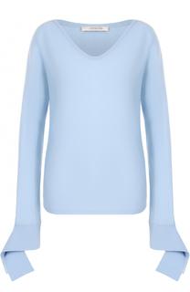 Шерстяной пуловер с V-образным вырезом Dorothee Schumacher