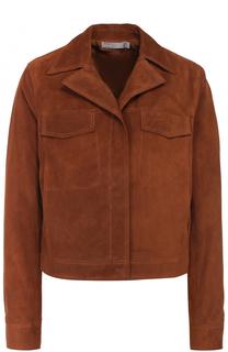 Укороченная замшевая куртка Vince
