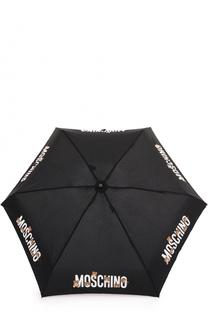 Складной зонт с брелоком Moschino