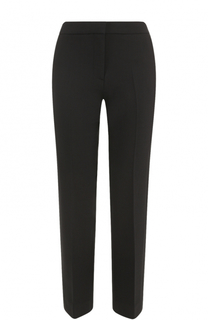 Укороченные брюки прямого кроя со стрелками Victoria by Victoria Beckham