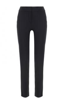 Укороченные брюки прямого кроя с карманами Armani Collezioni