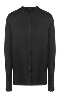 Удлиненная блуза с воротником-стойкой Ilaria Nistri