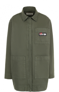 Удлиненная джинсовая куртка свободного кроя Etre Cecile