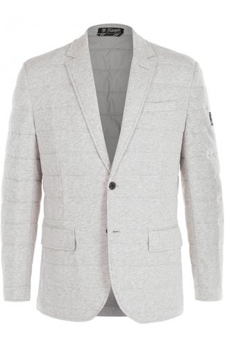 Утепленная стеганая куртка на пуговицах с отложным воротником Polo Ralph Lauren