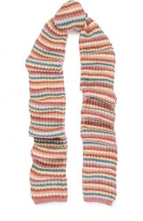 Вязаный шарф в полоску Tak.Ori