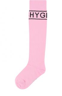 Шерстяные носки фактурной вязки Givenchy