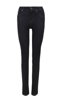 Однотонные джинсы с контрастной прострочкой Jacob Cohen