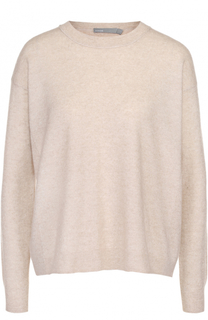 Кашемировый пуловер с круглым вырезом Vince