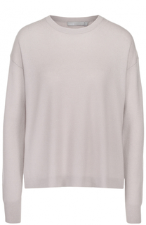 Кашемировый пуловер свободного кроя с круглым вырезом Vince