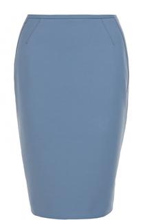 Юбка-миди с разрезом Armani Collezioni
