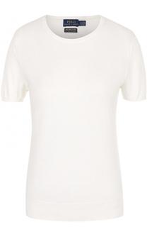 Хлопковая футболка с короткими рукавами Polo Ralph Lauren