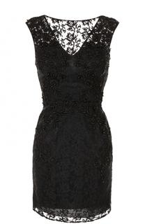 Приталенное мини-платье с вышивкой Basix Black Label