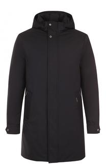 Пуховое пальто прямого кроя Moorer