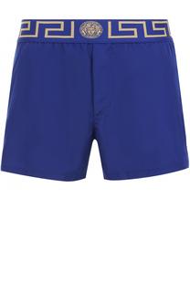 Плавки-шорты с широкой резинкой Versace