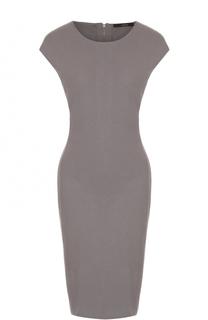 Приталенное платье-миди без рукавов Windsor