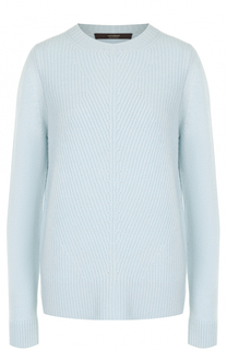 Кашемировый пуловер фактурной вязки Windsor