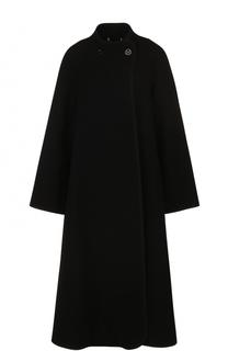 Шерстяное расклешенное пальто Chloé
